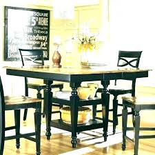 dining tables high dining table set counter height glass white 5 piece round ta high dining