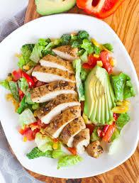 chicken salad. Unique Salad Garlic Chicken Salad In E