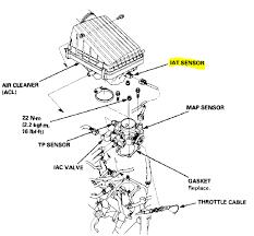 p honda civic intake air temperature sensor circuit high need more help