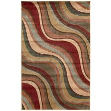 multicolor area rugs fresh nourison somerset multicolored area rug round 5 6