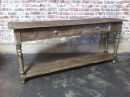 Innovation Vintage Sofa Table It V Throughout Decor