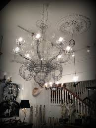 i bought this wire chandelier house