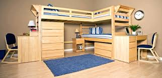 storage loft bed with desk robys co canwood whistler