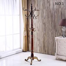 High Quality Coat Rack 100 European Birch Clothes Stand Clothes Hanger Creative Elegant 1