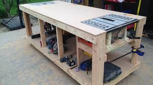 the construction of a nice yet simple workbench is really needed it is surely possible to make your own workbench easily but still beautifully