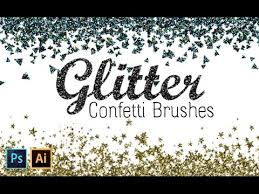 Confetti Brush Photoshop How To Create Glitter Confetti Brushes With Photoshop And Illustrator