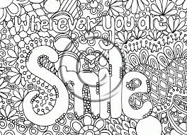 Cute Coloring Pages Adults