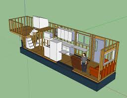 Small Picture Tiny House Layout has master bedroom over fifth wheel hitch with