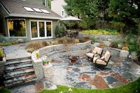 landscape patios. Rustic, Patio, Stone, Outdoor Living, Walls, Steps, Fire Pit Patio Landscape Patios Landscaping Network