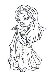 Small Picture Disney Bratz coloring pages 2 Color Bratz Pinterest Princess