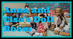 American Girl Doll Disney Frozen Elsa And Annas Room Hd Please Tsum