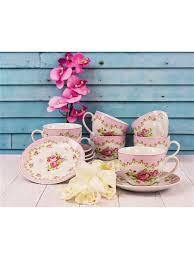 <b>Чайный</b> сервиз из 12 предметов <b>220</b> мл <b>LORAINE</b> 5826576 в ...