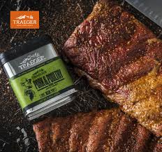 dry rubbed bbq st loius ribs