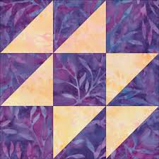 How to resize a quilt block, i.e., make a 6