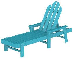 polywood long island adirondack chaise lounge