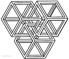 geometric shapes coloring pages lawslore coloring pages shapes geometric