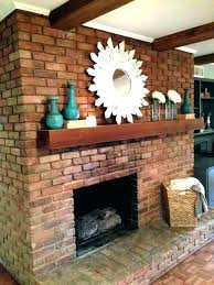 red brick fireplace ideas red brick fireplace mantel decor decorating ideas best on fire place i