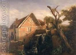 The team were punctual, tidy, and worked so quickly i was surprised when they were finished. The Watermill Painting By F Muller Reproduction 1st Art Gallery