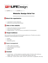 Project Brief Template – Onairproject.info