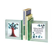 jewish gifts personalized bookends personalized tree of life gl bookends