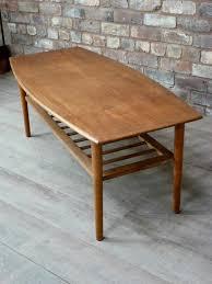 teak coffee table. Vintage Teak Coffee Table