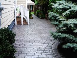 25 best ideas about stamped concrete driveway on