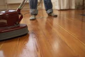 buffing your wood floors after finishing them imparts an impressive sheen