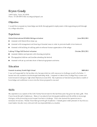High School Resume Includes Volunteer Experience Beauteous Resume Volunteer Experience