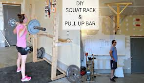 to the hubs for this post so get excited for his step by step instructions on how to construct your own squat rack and pull up bar for your home gym