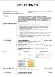 Creative Marketing Resume Resume Examples By Real People Digital Marketing Analyst