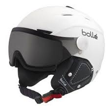Bolle Backline Visor Premium Helmet Soft White Black
