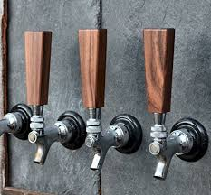 Beer Tap Coat Rack Handcrafted Distinctive Dark Walnut Beer Short Tap Handle 100 x 100 70