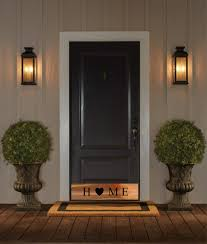 entry door kick plates. home cut out copper door kick plate by deck the decor entry plates