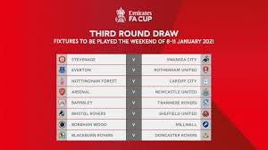 Fixtures fixtures back expand fixtures collapse fixtures. 2020 21 Emirates Fa Cup Third Round Complete Draw Revealed