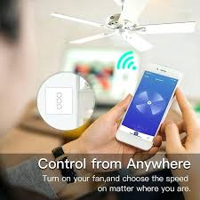 wifi ceiling fan smart ceiling fan switch app remote timer and sd control compatible with and wifi ceiling fan