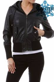 real leather faux leather er jackets