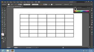 Adobe Chart Maker How To Use Grid Tool In Adobe Illustrator Cs6