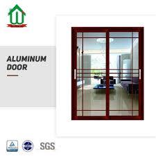 sgs anodizing aluminum sliding patio door low e glasslike