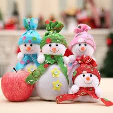 Sweet <b>Christmas Snowman</b> Doll Apple Fruit Bags Box <b>Christmas</b> ...