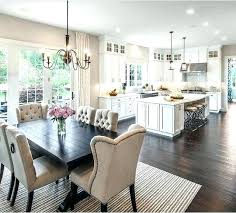 kitchen living room ideas open concept small