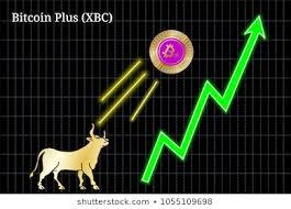 Bitcoin Plus Chart Bitcoin Plus Xbc Bullish Chart Images Stock Photos