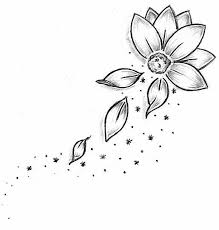 Small Picture Best 25 Flower outline ideas on Pinterest Tattoo outline