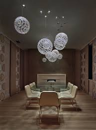 interior pendant lighting. Modern Meeting Room Feature Crystal Pendant Interior Lighting N