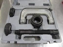 ball joint press tool. the full ball joint press is most efficient way to get stubborn joints removed. tool