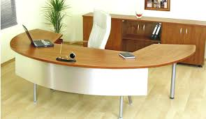 curved office desks. Breathtaking Enchanting Curved Office Desk White This Wood Furniture Full Size Minimalist Ikea Table Desks Jordanday