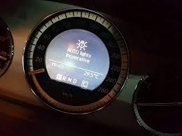 The light sensor is defective. Mercedes Benz C200 Kompressor Whatsapp Shalom Auto Trader Facebook