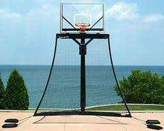 pinmydreambackyard basketball goal rebounding net outside hoop a56
