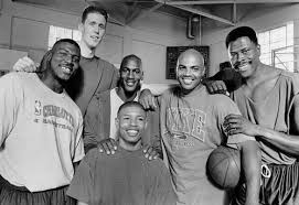 Kyrie irving, shaquille o'neil, lisa leslie, kevin durant, and blake griffen as charles barkely, patrick ewing, larry johnson, mugsy bogues, shawn bradley. Space Jam Cast Shawn Bradley Larry Johnson Patrick Ewing Mugsy Bogues Charles Barkley And Michael Jor Michael Jordan Basketball Nba Legends Nba Basketball