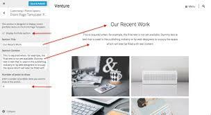 Venture Theme — Wordpress.com