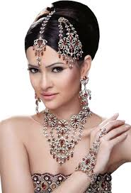 indian wedding clothes bride makeup artist jewellery hair accessory png image with transpa background free